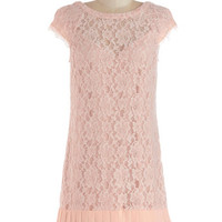Presentation and Accounted For Dress in Pink