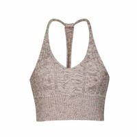 CABLE STRING BACK FESTIVAL KNIT TOP - Ally Fashion