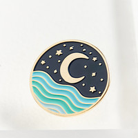 The Good Twin Nightscape Pin | Urban Outfitters