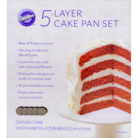 Wilton Easy Layer Pan (Set of 5)