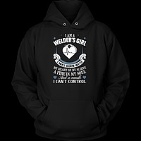 Nurse- i am a welder's girl -unisex hoodie t shirt-TL00871HO