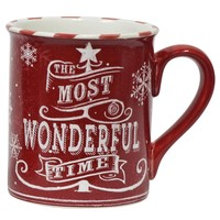 The Most Wonderful Time Mug