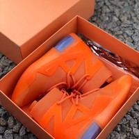Nike Air Fear Of God 1 Fog Orange Pulse Sneakers - Best Online Sale