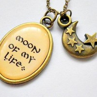 Game of Thrones Khaleesi Moon Of My Life necklace (antique gold / brass)