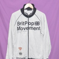 Vintage Britpop Movement Working Class Hero 1995 Manchester UK Trainer Jacket