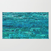 :: Tropical Sea :: Area & Throw Rug by GaleStorm Artworks