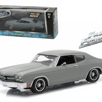 """Dom's 1970 Chevrolet Chevelle SS """"Fast and Furious"""" Movie (2009) 1-43 Diecast Model Car by Greenlight"""