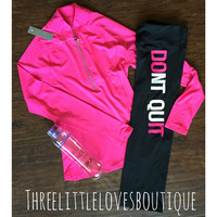 Long Sleeve Active Wear Pullover - Hot Pink