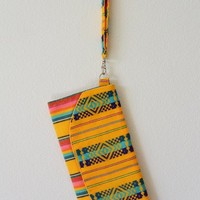 Mexican Wristlet Bright Yellow
