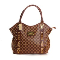 Louis Vuitton LV Fashion Leather Tote Satchel Shoulder Bag Handbag