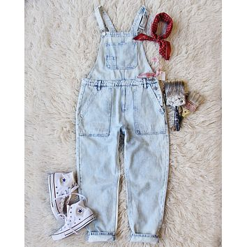 Paint By Numbers Overalls