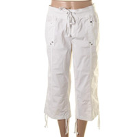 Style & Co. Womens Flat Front Pull On Capri Pants