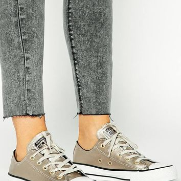 Converse Chuck Taylor All Star Colour Shift Grey Leather Trainers