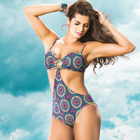 Three-Piece Bikini Trikini Swimwear