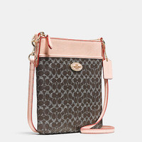 Courier Crossbody in Signature Canvas
