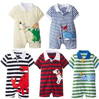 Baby Boy Clothing Sets born Baby Clothes Infant Animal Jumpsuits Baby Boy Clothes