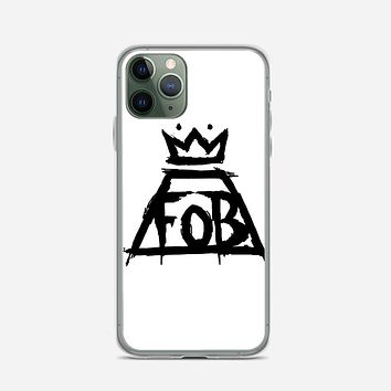 Fall Out Boy White iPhone 11 Pro Max Case