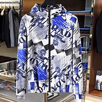 PRADA Fashion Men Women Print Hoodie Cardigan Jacket Coat Windbreaker Sportswear