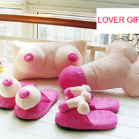 Sexy Slippers Pillow Cushion   (lover gift)