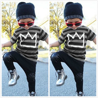Baby boy clothes  Brand summer kids clothes sets t-shirt+pants suit clothing set Star Printed Clothes newborn sport suits
