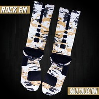 Custom Nike Elite Socks - Splatter Series | Rock 'Em Apparel