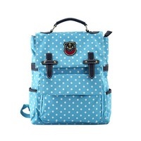 MapleClan Candy Color Lovely Polka Dot Backpack