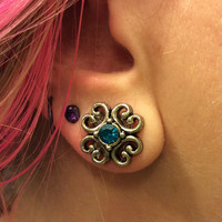 00g, 0g, 2g, 4g, 6g upcycled plugs - Perfect for everyday Wedding Bridesmaid Special Occasion