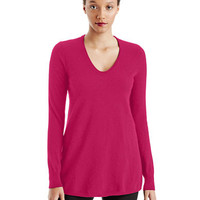 Lord & Taylor Scoop Neck Cashmere Sweater