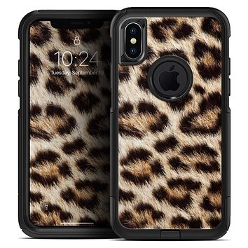 Leopard Furry Animal Hide - Skin Kit for the iPhone OtterBox Cases