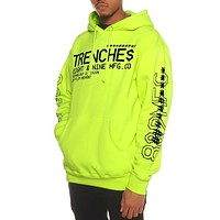 Tech Division Pullover Hoodie Volt