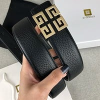 Givenchy classic letter buckle fashion men's and women's belt