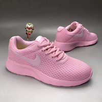 """NIKE"" Fashion Casual Stitching Breathable Net Ultra-light Sneakers Women Running Shoes"