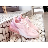 NIKE AIR MAX 270 2019 new pink women's wild sports shoes
