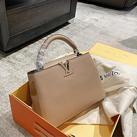 LV CAPUCINES women's all-match handbag messenger bag