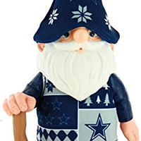 NFL Dallas Cowboys Real Ugly Sweater Gnome - Busy Block, Blue