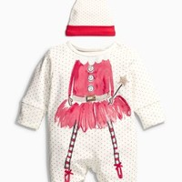 Buy Fairy Sleepsuit With Hat (0-18mths) from the Next UK online shop
