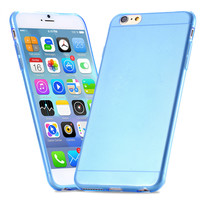 Ultra Thin Clear Case For Iphone 6 Candy Colors