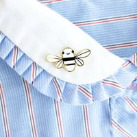 Mini Golden Bee Enamel Pin