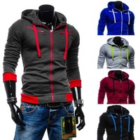 Hoodies Men Casual Fleece Hats Jacket [6528747459]