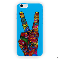 Peace No War Colorfuls Painting For iPhone 6 / 6 Plus Case