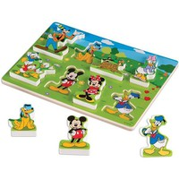 Melissa & Doug Mickey Mouse Clubhouse Wooden Puzzle - Puzzle Haven