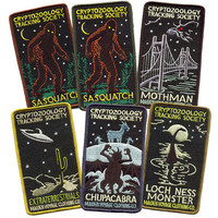 6 PATCH PACK: Cryptozoology Tracking Society