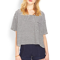 FOREVER 21 Cuffed High-Waisted Shorts