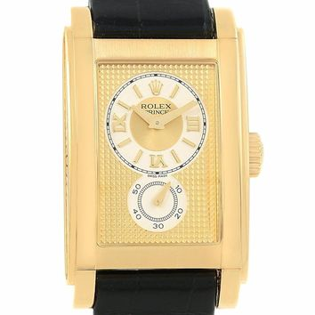 Rolex Cellini automatic-self-wind male Watch 5440/8 (Certified Pre-owned)