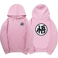 2017 Newest Cosplay Dragon Ball Hoodie Wukong Turtle Fairy Sweatshirts Dragon Ball Z Jacket 100% Cotton Hoodies Men And Women