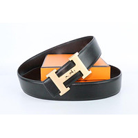 Hermes belt men's and women's casual casual style H letter fashion belt340