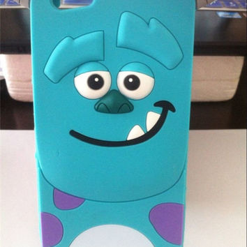 3D Cute Soft Cartoon Silicone Back Case Cover Skin For iPhone 4S 5/5S 6 & 6 Plus