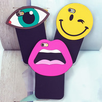 Face It Phone Case For iPhone 5 5S/6 6S 4.7'' 6P 5.5'' Soft Silicon Back Cover