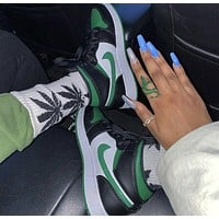 Nike Air Jordan 1 AJ1 Retro Pine Green Sneakers Shoes