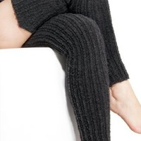 Sweater For Your Legs Merino Wool Leg Warmers by KD dance New York Made in USA